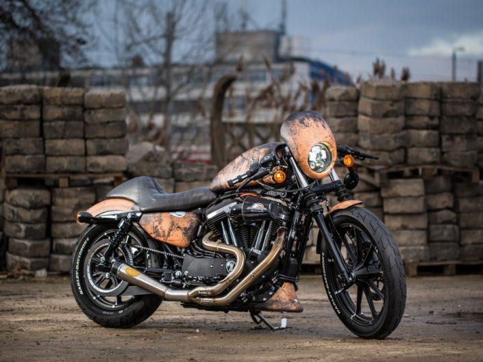 Harley Davidson V-force Poznań