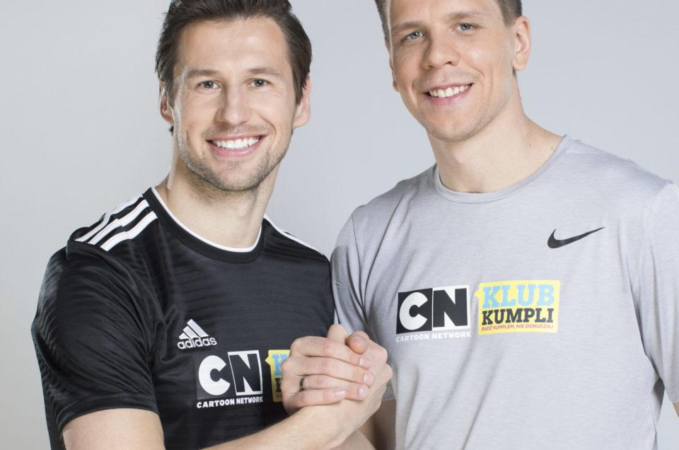 Grzegorz Krychowiak i Wojciech Szczęsny dla Cartoon Network